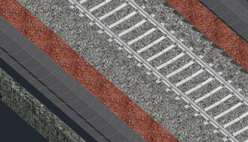 Railway Track Delhi-Jaipur(Infrastructure, Faridabad)