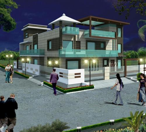 SU Block Residence of MKA (Residential, Delhi)